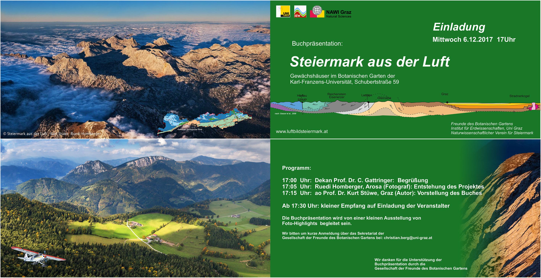 Buchpräsentation: Steiermark aus der Luft