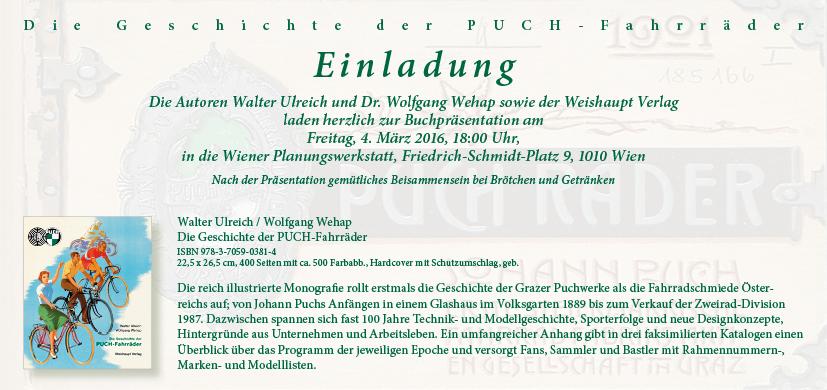 Puch-Präsentation in Wien 04032016